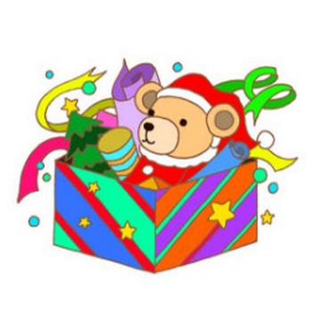 無料 四季・季節行事・祝日祭日のイラスト - (クリスマス・クリスマスプレゼント・玩具・ぬいぐるみ・クリスマスイヴ・聖夜)