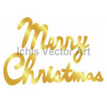 メリークリスマス | 無料イラスト素材|Ichis Vector Art