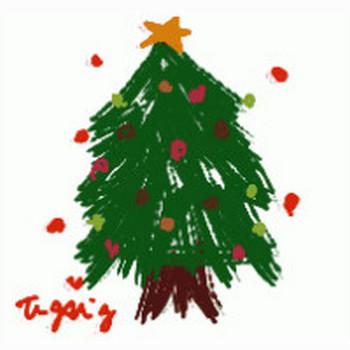 クリスマスツリーのイラストweb素材(フリー素材) | webデザイン素材 tigpig