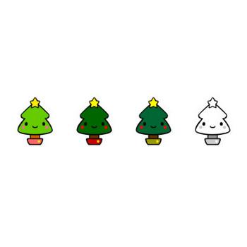 クリスマスのイラスト: イラスト無料素材かわいい系
