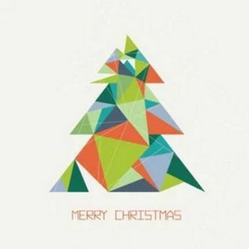 Triangular Christmas Tree - 9694 - Dryicons