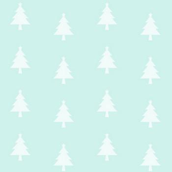 【12月/冬のイラスト】クリスマスツリーのシルエット背景シームレスパターン | 無料フリーイラスト素材集【Frame illust】