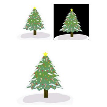 クリスマスツリーのイラスト、アイコン | イラスト素材パラダイス 商用利用無料のイラスト素材