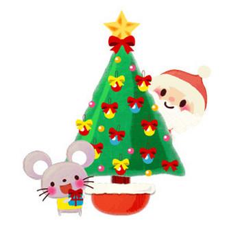 クリスマスカード用印刷素材 ~mococo PRINT~
