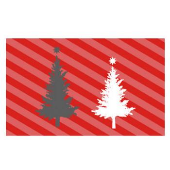 クリスマスツリー シルエット | EC design(デザイン)