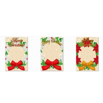 【フレーム 枠】縦型 クリスマスリースシリーズをUPしました。 無料イラストダウンロード ( その他デザイン ) - ★猫のよこずき★えっぴとiPhoneの日々★ - Yahoo!ブログ