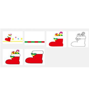 クリスマスブーツ — POP・イラスト素材 無料ダウンロード