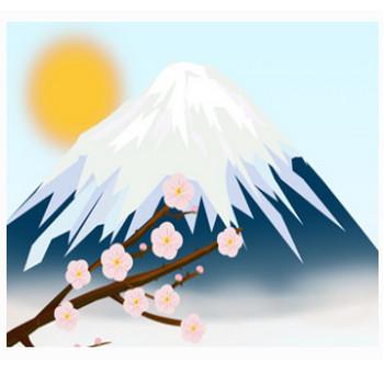 富士山のイラスト | イラスト素材パラダイス 商用利用無料のイラスト素材