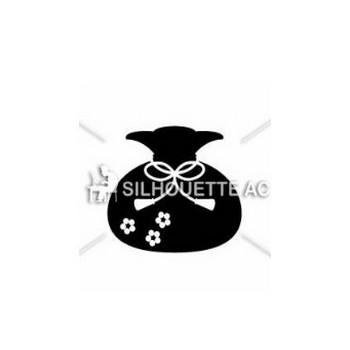 福袋 シルエット イラストの無料ダウンロードサイト「シルエットAC」