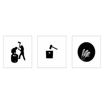 餅つき|シルエット イラストの無料ダウンロードサイト「シルエットAC」