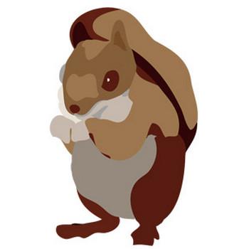 栗鼠(リス) - パブリックドメインQ:著作権フリー画像素材集
