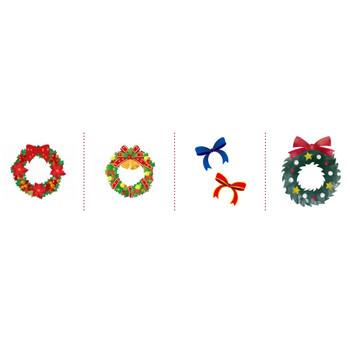 「クリスマス リボン」イラスト無料
