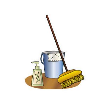 無料|WEB素材|イラスト|歳末/大掃除2