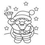 クリスマスのぬりえ フリー素材のイラスト・テンプレート画像集めてみた!