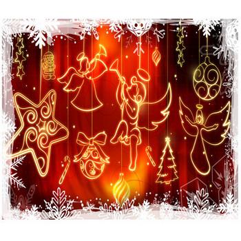 壁紙Link 「クリスマスのイラスト Christmas」