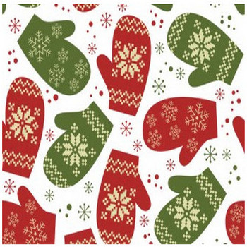 pattern guanti Natale – Christmas gloves pattern   Vettoriali Gratis.it (Free Vectors)