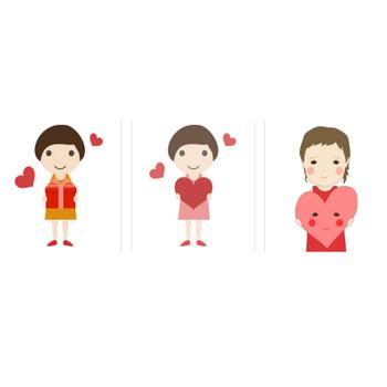 バレンタイン | 検索結果: | イラストK
