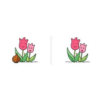 植物−チューリップ【イラスト素材】 MMGクリエイティブネット