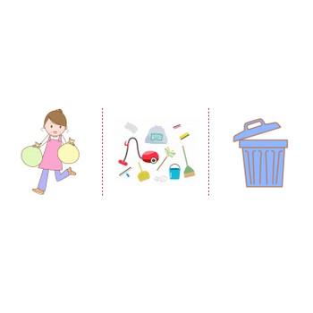 「ゴミ」イラスト無料