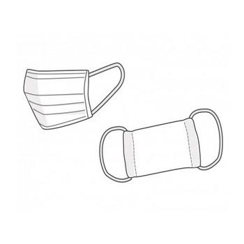 マスクのイラスト素材 | イラスト無料・かわいいテンプレート