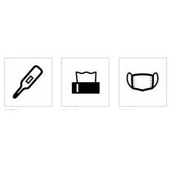 風邪|シルエット イラストの無料ダウンロードサイト「シルエットAC」