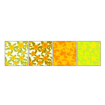 たんぽぽのイラスト壁紙(春の花)/無料素材