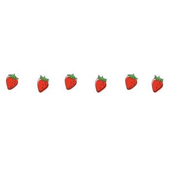 イチゴ | 罫線・飾り罫ライン素材 FREE LINE DESIGN