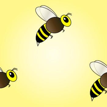 蜜蜂(ミツバチ)の無料背景画像 フリー素材集 - カフィネット