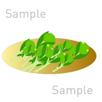 菜の花の無料イラスト素材|登録不要のイラストぱーく