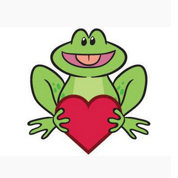 Cartoon Frog Vector | 123Freevectors