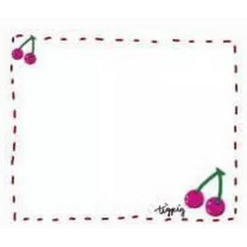 フリー素材:フレーム素材。 ガーリーなピンクのさくらんぼのイラスト。 | webデザイン素材 tigpig