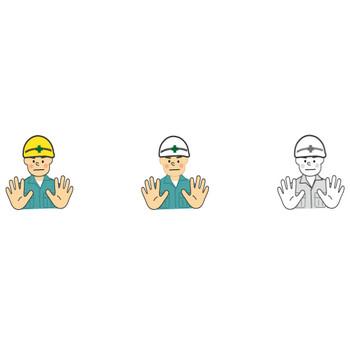 工事・工事現場のイラスト・無料イラスト