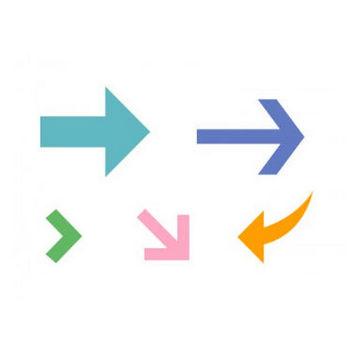 矢印・カーソル・イラストアイコンセット01 | イラスト無料・かわいいテンプレート