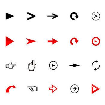 Vol2 矢印アイコンのフリー素材 | Icon Graphic Design | つみきブログ