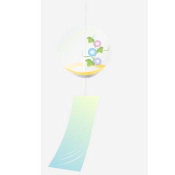 風鈴のイラスト | 無料イラスト作成ソフトInkscape(インクスケープ)の作品集