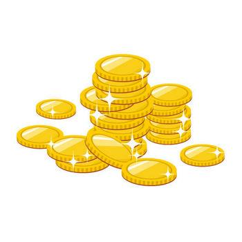 お金/マネー/コインのイラスト素材 | ストックマテリアル