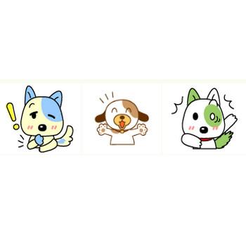 犬、猫の表情・喜怒哀楽フリーイラス | イラスト工房