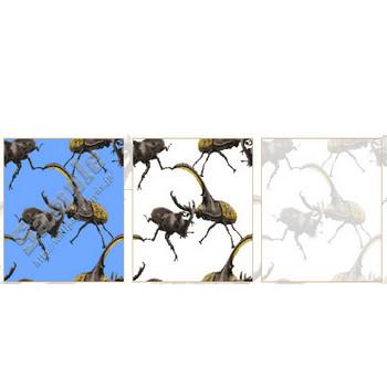 カブトムシの壁紙用イラスト・条件付フリー素材集(スマホなど携帯電話対応)