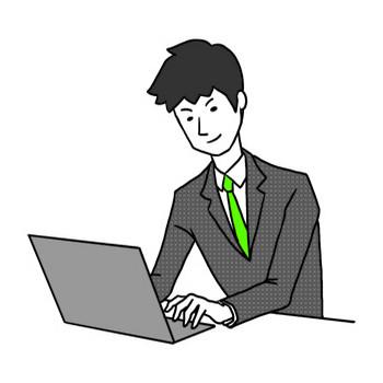 【商用フリー】ウェブデザインや資料作成に!サラリーマンイラスト|アクトゼロ|SMMやSEMを中心としたデジタルマーケティング会社