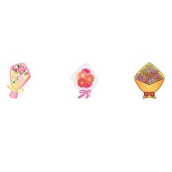 花束-花の無料イラスト素材-イラストポップ