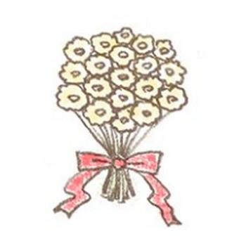 花束のイラスト | 無料で使える!誕生日のフリー素材(商用利用・加工可) | Happy Birthday Project