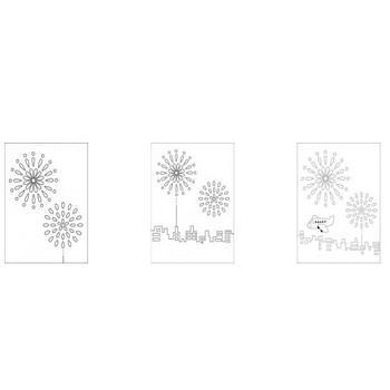 レク素材 8月花火|介護レク広場~レク素材やレクネタ(企画書)の無料ダウンロード