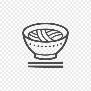 ラーメンのフリーイラスト6 | アイコン素材ダウンロードサイト「icooon-mono」 | 商用利用可能なアイコン素材が無料(フリー)ダウンロードできるサイト