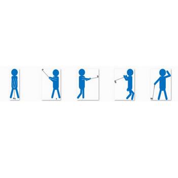 ゴルフのイラスト(イラスト画像フリー素材)