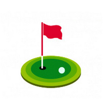 ゴルフ イラスト イラスト無料配布!商用利用可・リンクフリー|Frogs Art