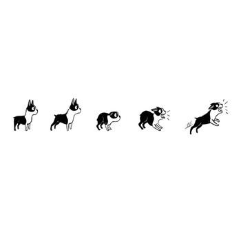 犬のボディーランゲージ(イラストバージョン) | サンシャイン・スマイル