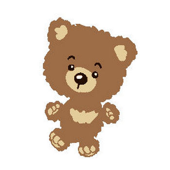 (熊)クマのイラスト集/アイコン/背景画像(壁紙)=条件付フリー素材集