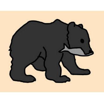 クマ  熊 イラスト 無料 GIF