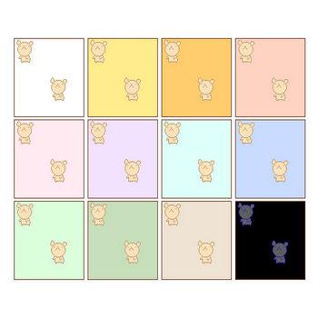 【素材屋405番地】くまの壁紙その1|WEB用イラスト素材・みきゆフォント
