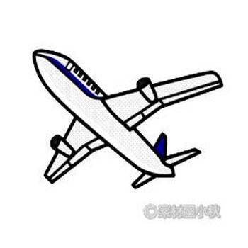 飛行機のイラスト | 素材屋小秋
